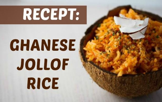 Week 24, Ghana, Jollof rijst met kip