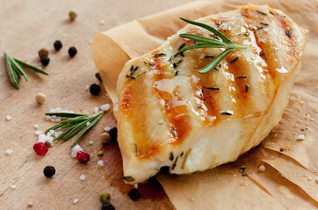 Chicken: Chicken is a great source of lean protein. By placing more protein in your diet, you can lower the amount of carbohydrates you take in while promoting weight loss