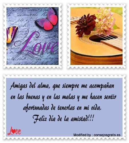 frases y tarjetas de amistad para compartir,buscar frases de amistad:  http://www.consejosgratis.es/saludos-a-mis-amigos-por-el-dia-de-la-amistad/