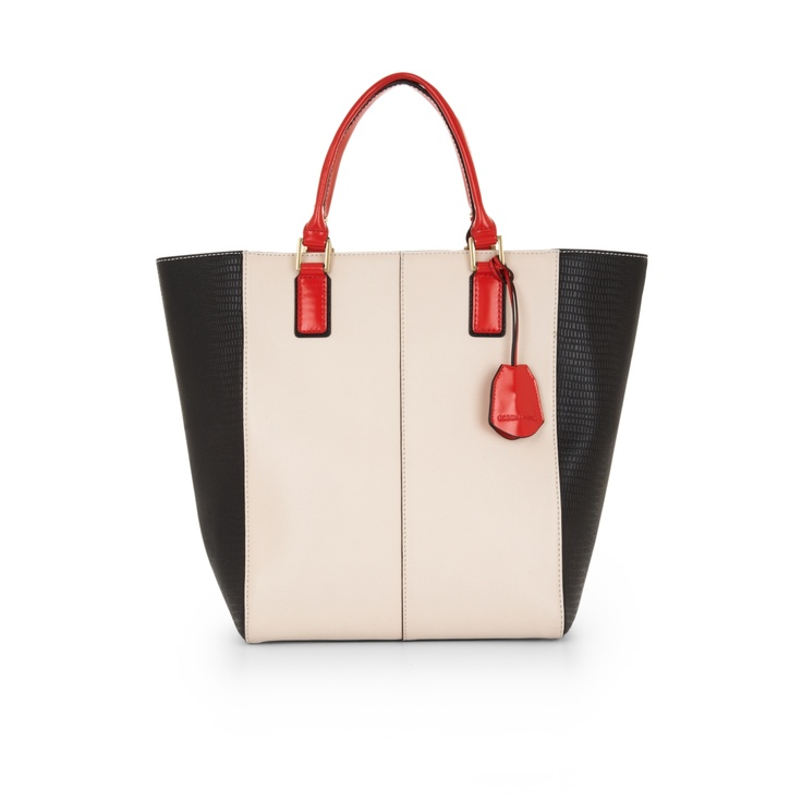 Sienna Color Blocked Tote   by BCBGMAXAZRIA
