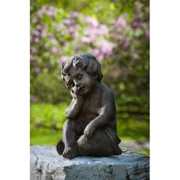 Alfresco Home Child Resting Garden Statue - Antica