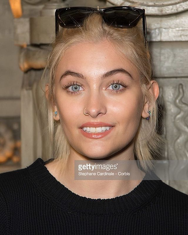 Paris Jackson in Paris, France on  January 20, 2017