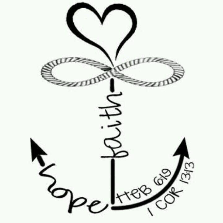 ... of hope tattoo anchor tattoo ideas cross anchor tattoo faith love hope