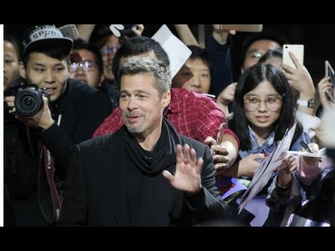 Brad Pitt appeared to be in a pretty great mood on Monday promoting Allied in Shanghai China. The visit marked his first promotional appearance for a movie in China since reportedly being banned over his 1997 film Seven Years in Tibet due to its portrayal of harsh Chinese rule in the Himalayan region.  The 52-year-old actor looked svelte in an all-black outfit looking youthful as always.    Photo: Getty Images WATCH: Brad Pitt Makes First Red Carpet Appearance Since Divorce Poses With…