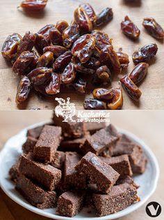 DATLOVÉ ŠPALÍČKY jen datle, kokos a kakao (případně karob)