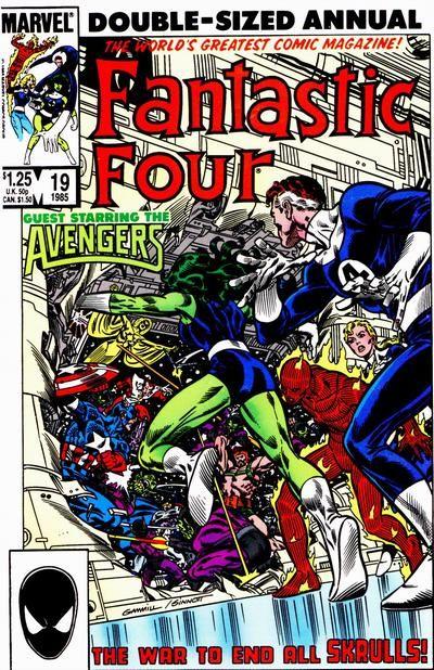 Fantastic Four Annual Vol 1 - Marvel Comics Database