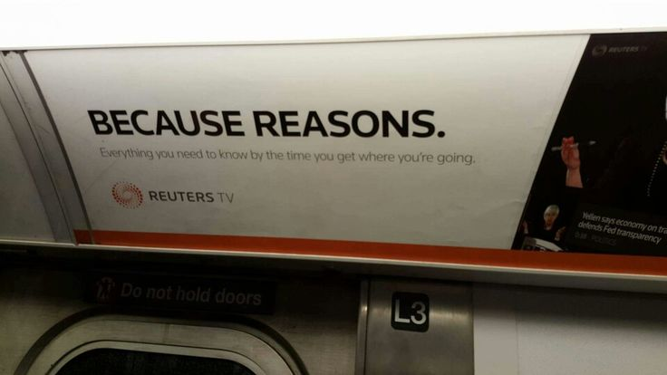 Advertising in America ..... because your face.