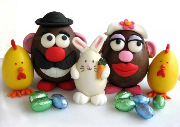 Sr. Papa de chocolate :)
