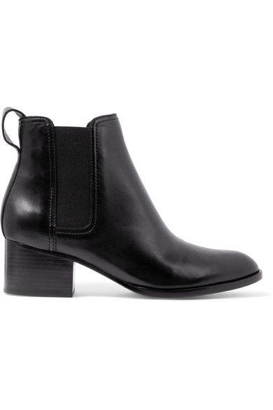 rag & bone - Walker Leather Chelsea Boots - Black - IT36