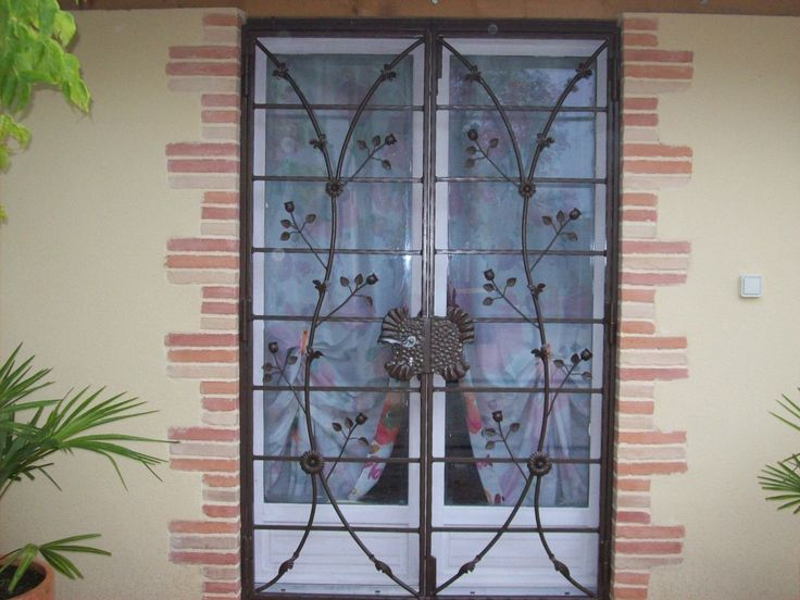 67 best barreaudage, fer forgé images on Pinterest Iron doors - prix des portes d entree