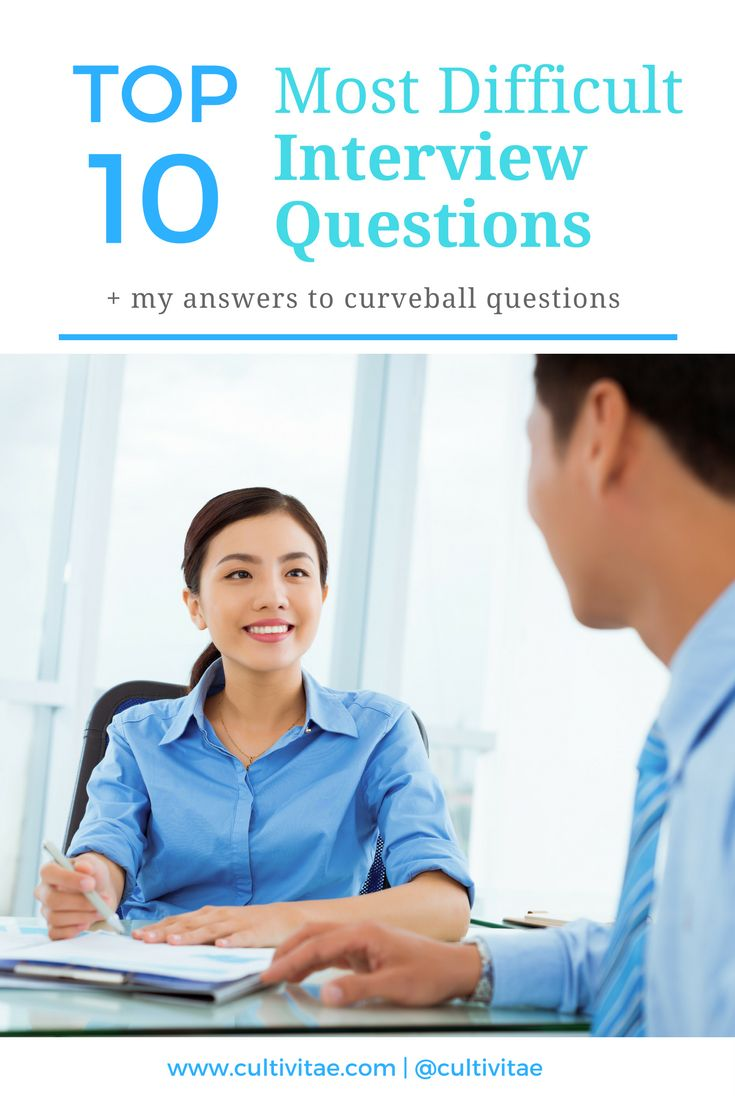 most difficult question during job interview News browse articles  job seekers +53 15 toughest interview questions (and answers) tweet: 71 comments monster evolutions  may 19, 2009 1.