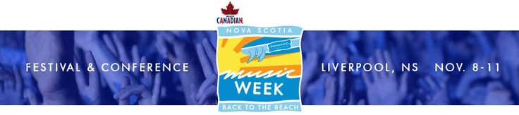 Want to showcase during Molson Canadian Nova Scotia Music Week 2012?  Deadline is June 15th!