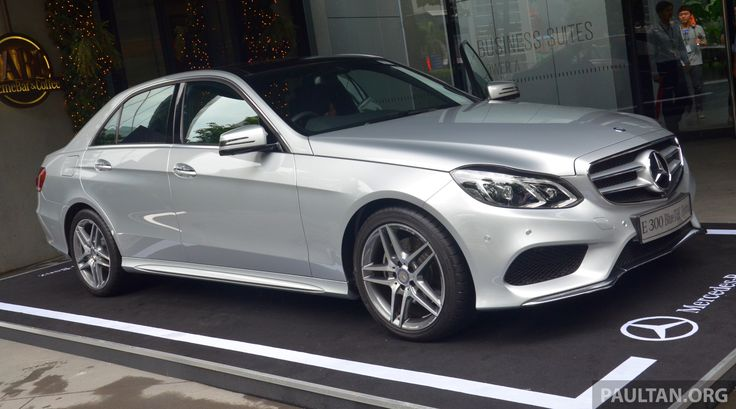 Mercedes-Benz Malaysia has officially introduced the locally-assembled W212 Mercedes-Benz E300 BlueTEC Hybrid - the car, the first diesel hybrid to be comm