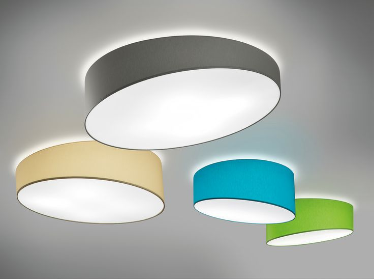 Pank ceilings available in three measures and seven diffusing fabric colours with down side white cover.