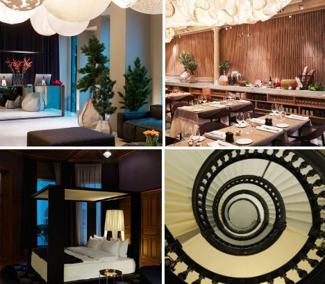 the nobis hotel designed by claesson koivisto rune in stockholm sweden the design has