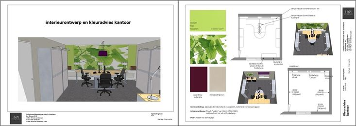 www.sketchupcursus.nl - SketchUp 3D - LayOut - kantoor
