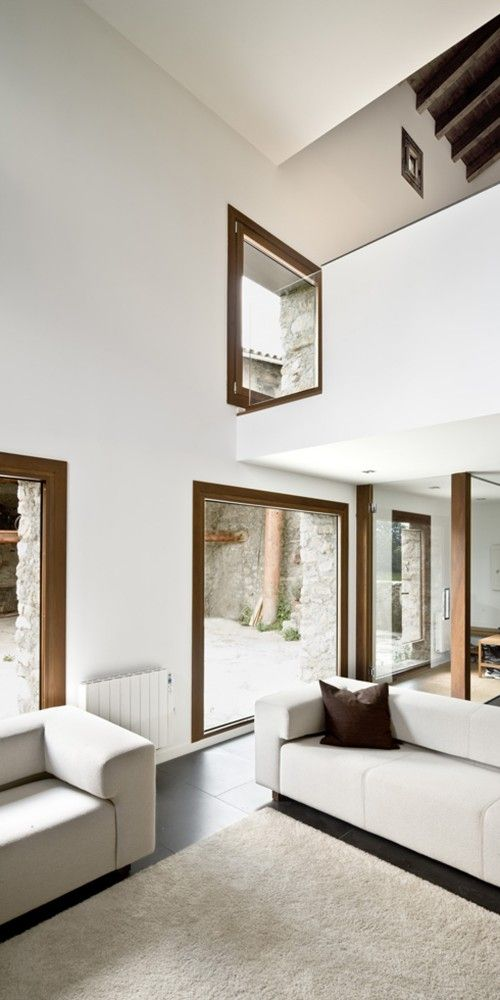 "House In Travesseres by Garcés – De Seta – Bonet ""Location: Travesseres, Lleida, Spain"" 2009"