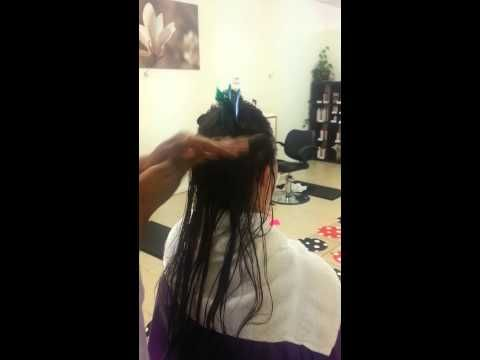 Head Lice Elimination Process Performed At Comb It Out Lice Removal Salon  http://m.combitout.com