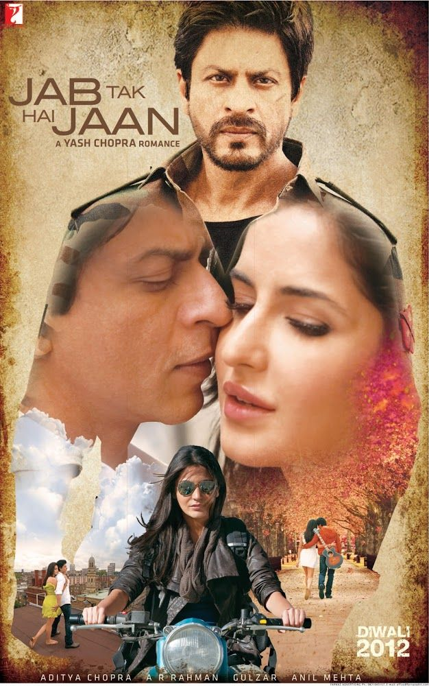 Jab Tak Hai Jaan (2012) | Por Dios y por amor... Samar Anand es un desactivador de bombas que en cada acción pone en juego su vida. Pero detrás...