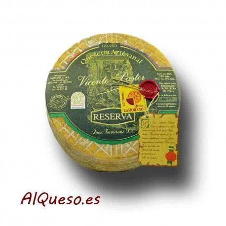 Zamorano Vicente Pastor Reserva. Sin duda el mejor queso Zamorano DOP.
