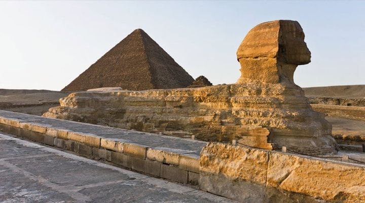 To the top of the Great Pyramid - A group of Russians went to Egypt and climbed the Great pyramid. According to their story, they arrived there early in the morning, while the complex was open, then waited in the shadows till the visi... - To the top of the Great Pyramid