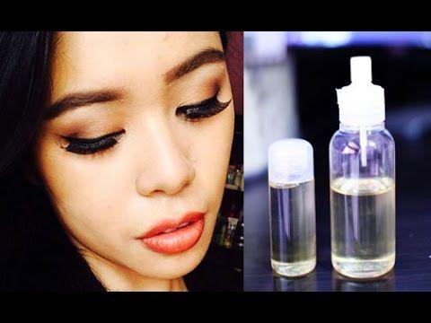 DIY EyeLash and Eyebrow Growth Serum- Get Stronger, Longer & Thick Lashes - YouTube