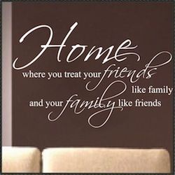 sayings for walls | family wall quotes inspirational wall quotes love romance wall quotes ...