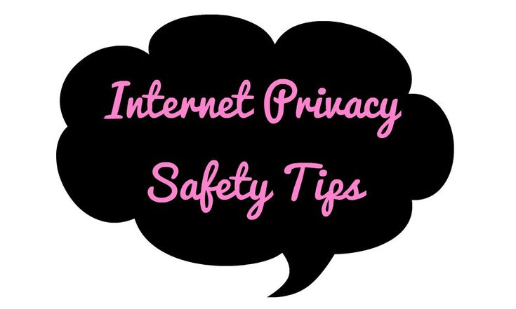 "Internet Privacy Safety Tips There are a lot of ""plus sides"" to the internet. Funny memes and Instagram, just to name a few. There are also a lot of down sides, one of the biggest being that it can be a danger to your privacy. Breaches in your online security can have really bad consequences, from having your passwords...  Read More at http://www.chelseacrockett.com/wp/teentalk/internet-privacy-safety-tips/.  Tags: #InternetAdvice, #InternetPrivacySafetyTips, #Intern"