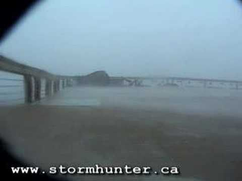 Hurricane Katrina Eyewall Moment  Gulfport, Mississippi
