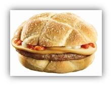 Ingredienti: pane tipo ciabatta, hamburger di carne 100% bovina, Speck Alto Adige IGP, formaggio Cheddar, insalata Batavia e salsa ai funghi