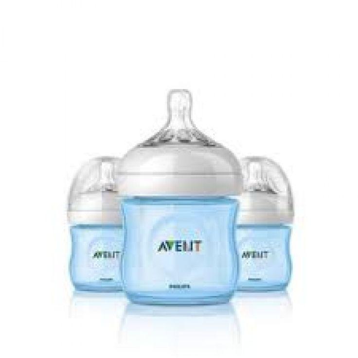 http://www.infanteducationaltoys.com/category/avent-bottles/ Philips Avent Bottle Natural 2 x 4oz / 125 ml (Twin) Blue Feeding