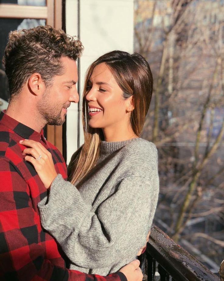 El cantante David Bisbal se comprometió con la venezolana Rosanna Zanetti