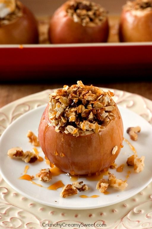 The Best Baked Apples. You can add a mix of nuts and raisins or skip it all together.