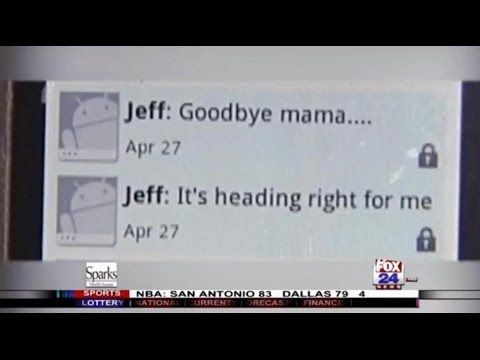 "Boy Texts His Mom ""Goodbye"" Right Before Tornado Hits Him - YouTube"