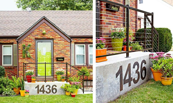 Best 25 Large House Numbers Ideas On Pinterest House