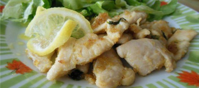 Petto di pollo al limone - Ricetta veloce