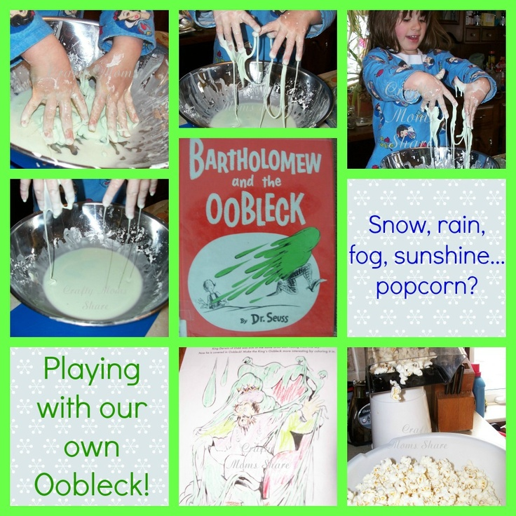 Dr. Seuss--Bartholomew and the Oobleck from Crafty Moms Share