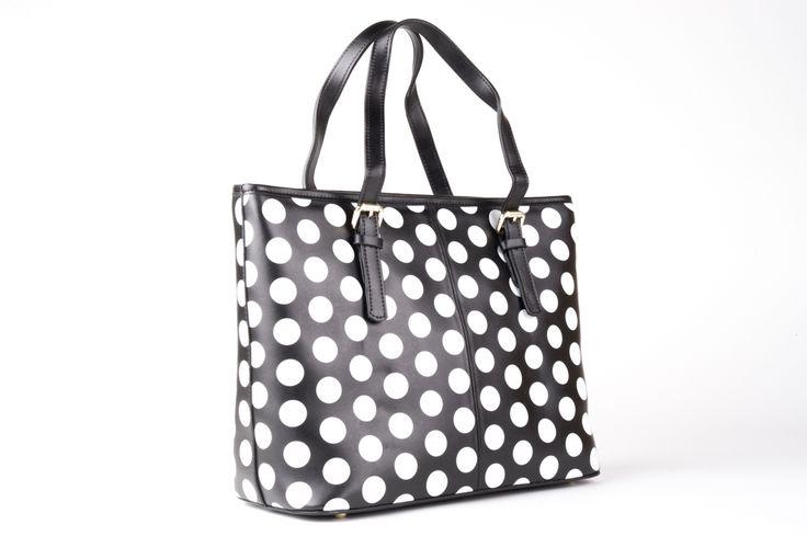 Minx bag Black and White Spot