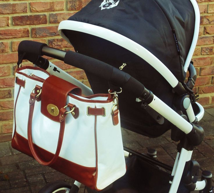 Leather Duchess baby changing/diaper bag.