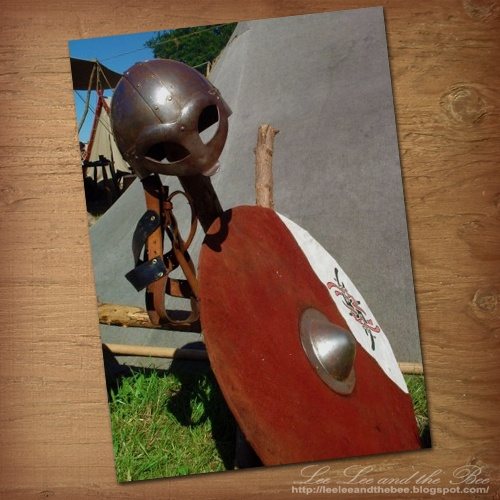 "SOLD! ""Viking Battle Gear"" greeting card --> http://su.pr/1pS7X9"