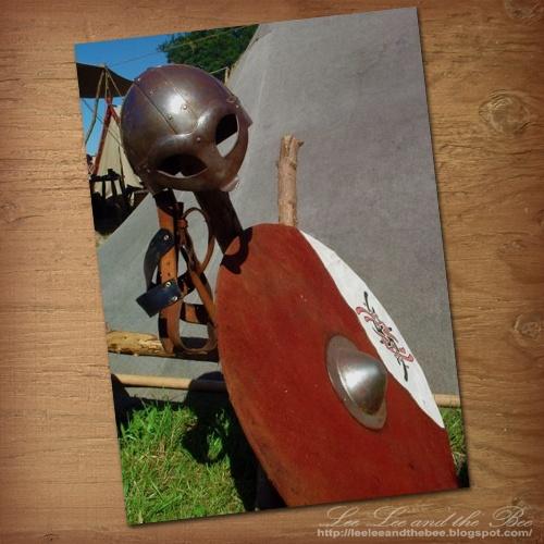 "SOLD! ""Viking Battle Gear"" greeting card --> http://su.pr/1pS7X9"