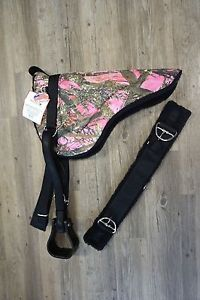 Pink Camo Country Girl WSTRN Englsh Horse Bareback Pad Stirrups Trail Ride Summr | eBay