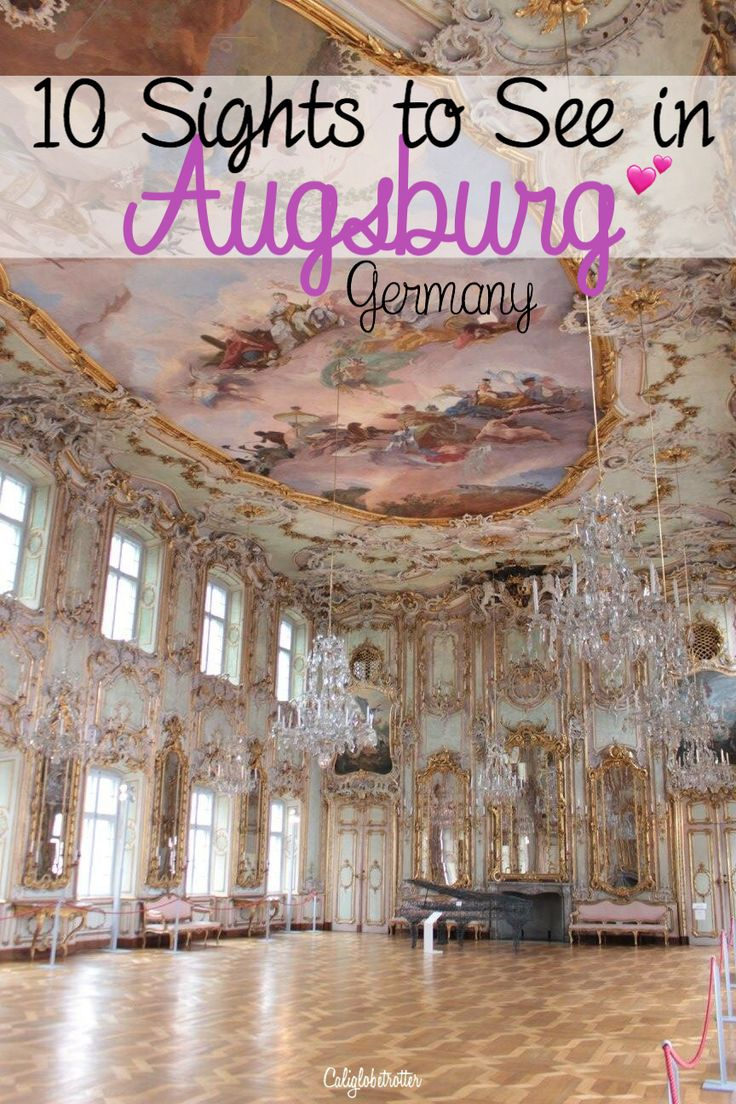 Main Sights to See in Augsburg for a Day Trip - Bavaria, Germany - California Globetrotter