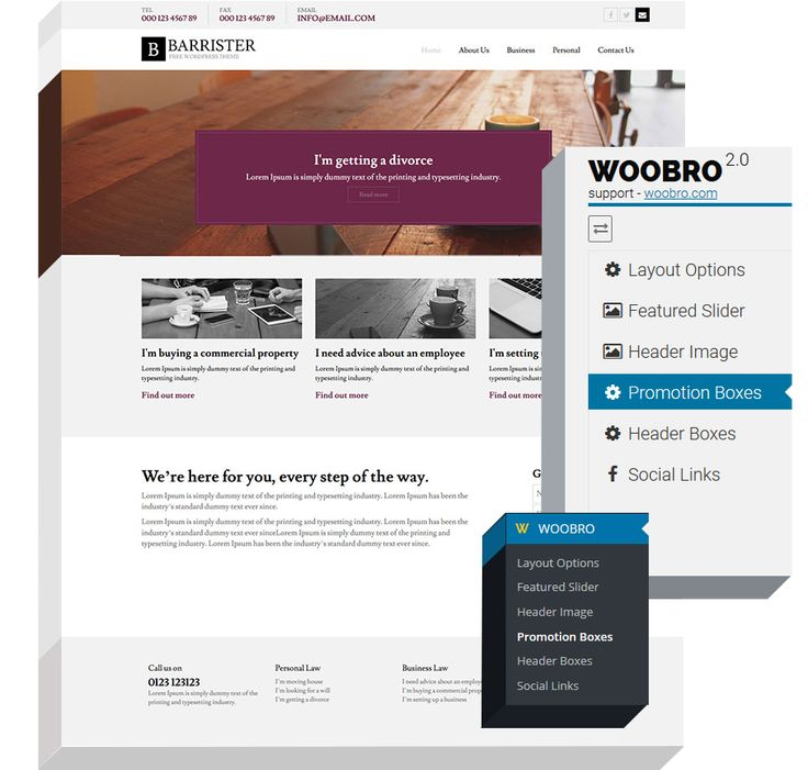 Free Barrister WordPress Theme | WordPress Designer