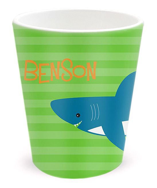 Shark Attack Personalized Tumbler
