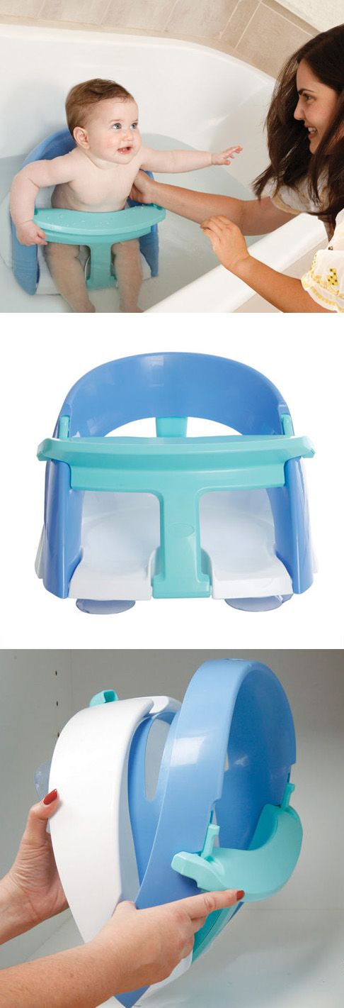 Floating baby bath seat - folds for storage #baby #shower #gift #present $25