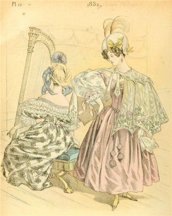 Французская мода за 40 лет — с 1830 по 1870 годы   Gospodin PG