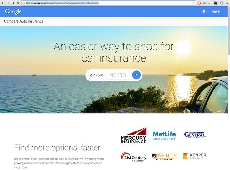 Google Launches Compare Auto Insurance Quote Tool