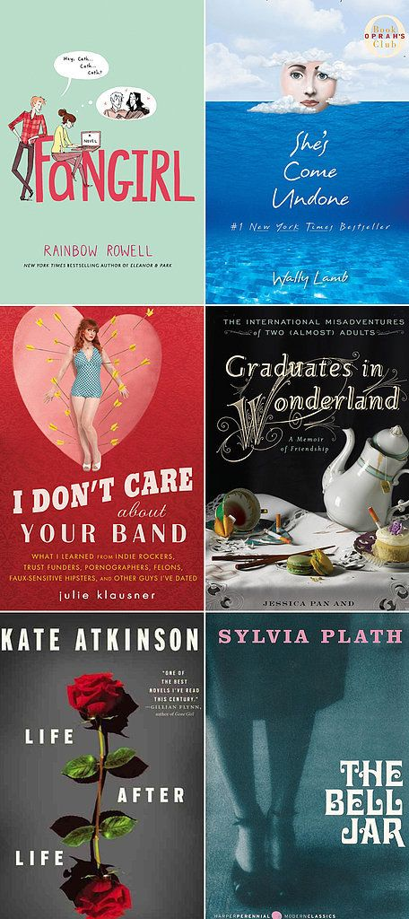 A Book to Read Each Year of Your 20s | 20s reading list | booklist for twentysomethings | books to read as a young adult