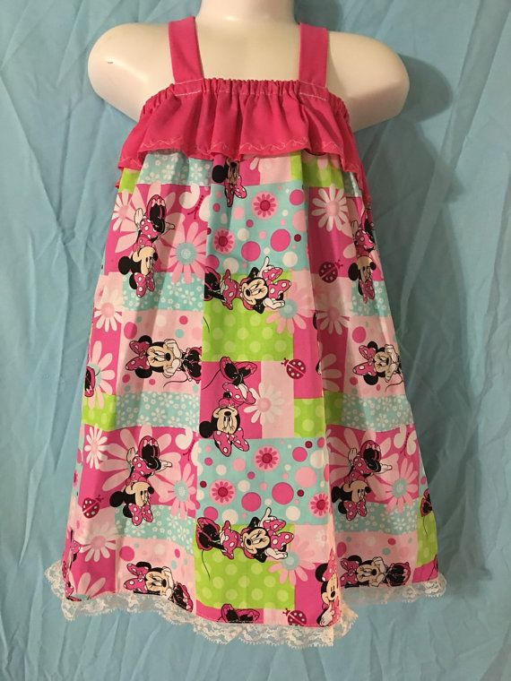 Minnie mouse dress by GrannyDsByDarina on Etsy